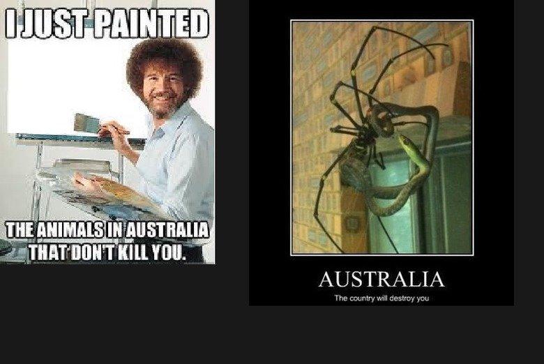 Straya cunt. . AUSTRALIA. nice, you would like my site