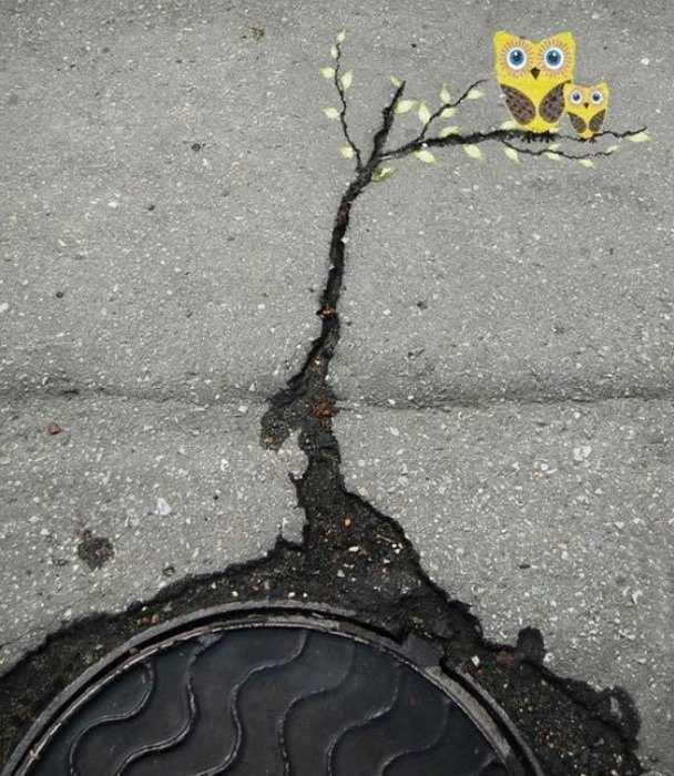 Street Art. . atleats -