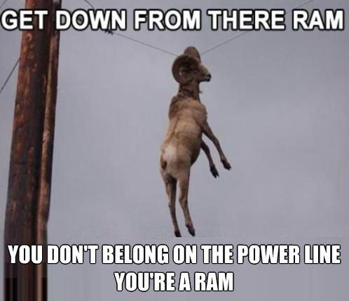 Stuck Ram. .