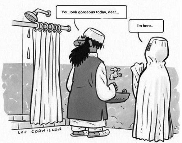Not know. Funny stupid terrorist
