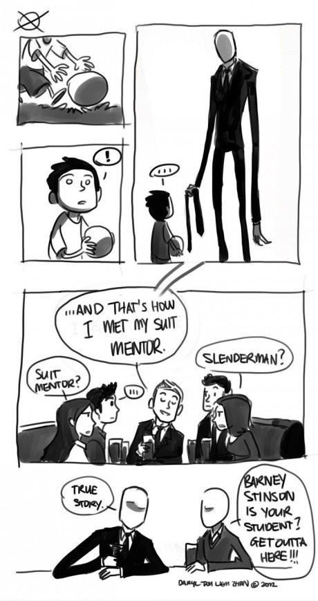 Suit Mentor. . barney Slenderman