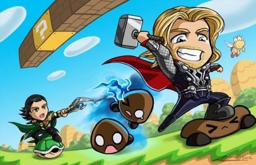 Super Asgard Bros. .. Loki's FW
