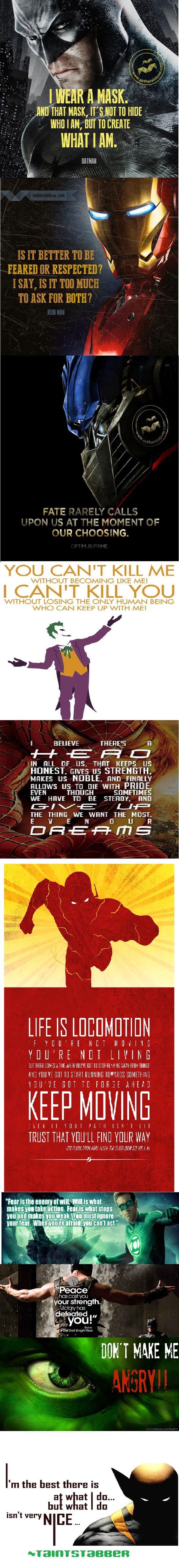 Super Heroes/Villains Quotes Comp. Part 2 maybe?. MID THAT MINI, IT' S Ill HIDE mm HIM, lloll Ill [IRENE I I WIT I HIT. Cruch' , YOU CAN' T KILL ME LIKE ME! I C super heroes villians