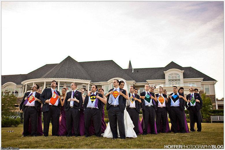 Super Wedding. 3rd guy y u no show super?.. Yay for misogyny......
