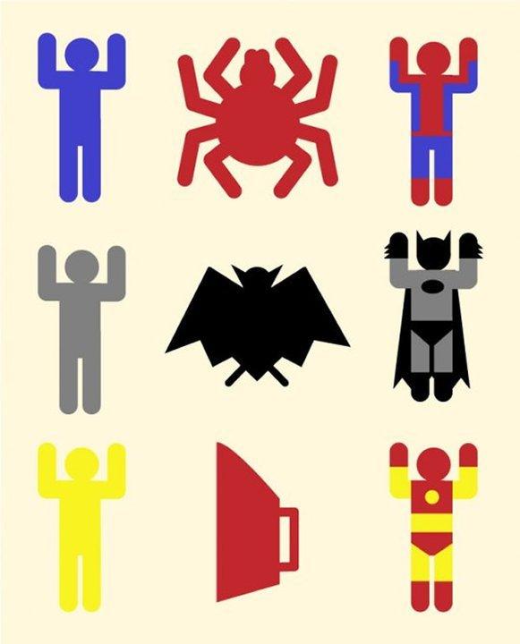 Superhero Combinations. .. I saw the exact same joke 1 picture ago