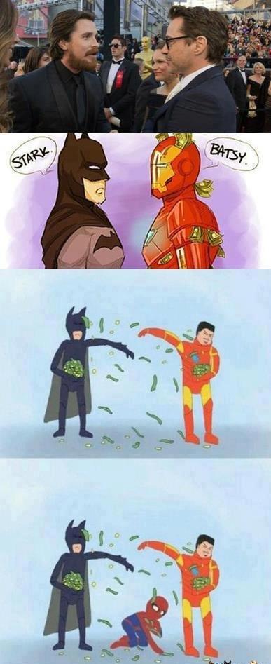 superheroes. retoast.