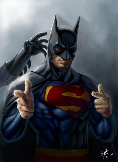 Supermans Halloween costume. .