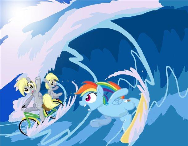 Surfs up.. floop.
