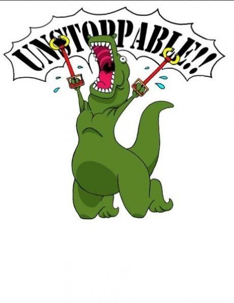 T-rex. .