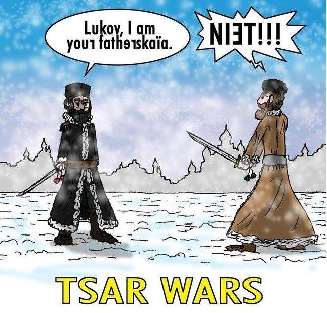 TSAR+WARS 380134 - vtipný obrázok - Kalerab.sk
