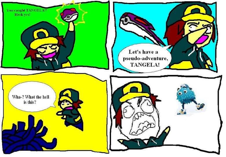 Tangela FFFUUU. Funny? Junk? Thumb accordingly!. Pokemon Pokemon Comic tangela tangela comic