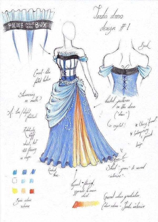 Tardis Dress pt. 1. .. Soo, it's technically a dress for fat chicks?