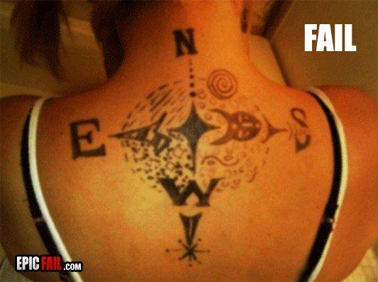 Tatoo Fail. .. thats marker