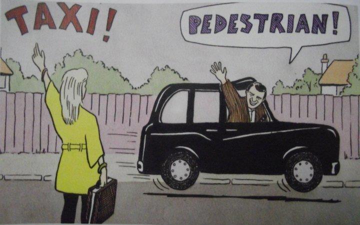 Taxi. Taxi!.. Loretta.