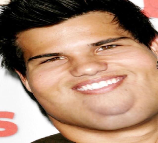 Taylor Lautner fat! Taylor Lautner Fat