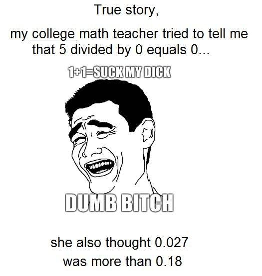 Why did my teacher fail me?
