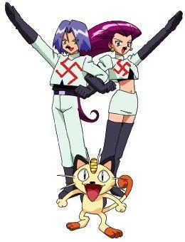 Team nazi. Team Rocket? I dont think so. Pokemon Nazi
