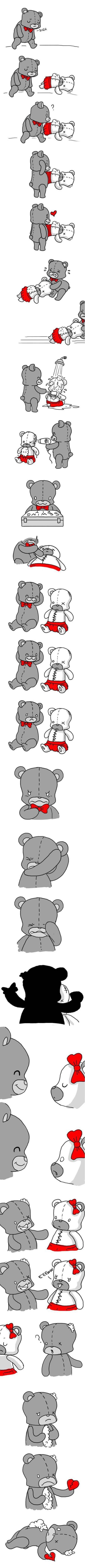 Teddy bear feels. Worth the read.. I completely misunderstood.