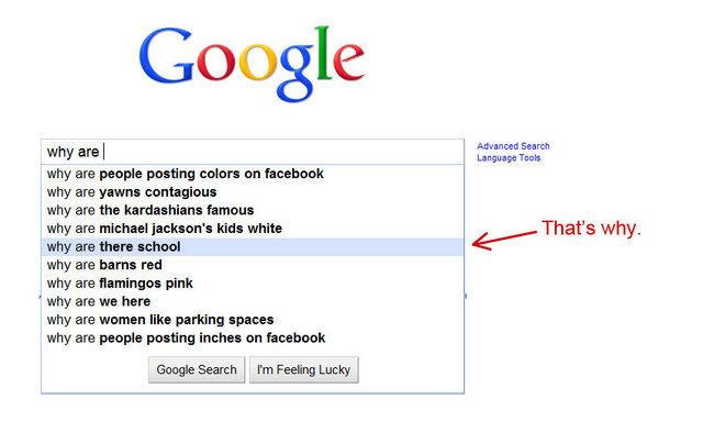 Tell Me, Google. Logo Fail:<br /> funnyjunk.com/funny_pictures/478718/Logo+Fail/<br /> Killed Dinosaurs:<br /> funnyjunk.com/funny_pictures/47 this is why idiot School Google