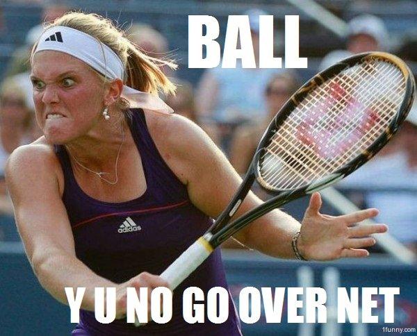 Tennis Fail.