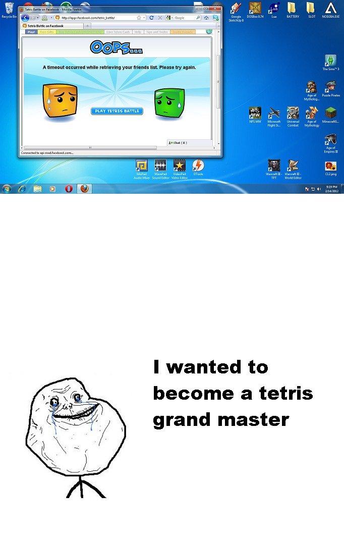 Tetris Grand Master. . the tag line