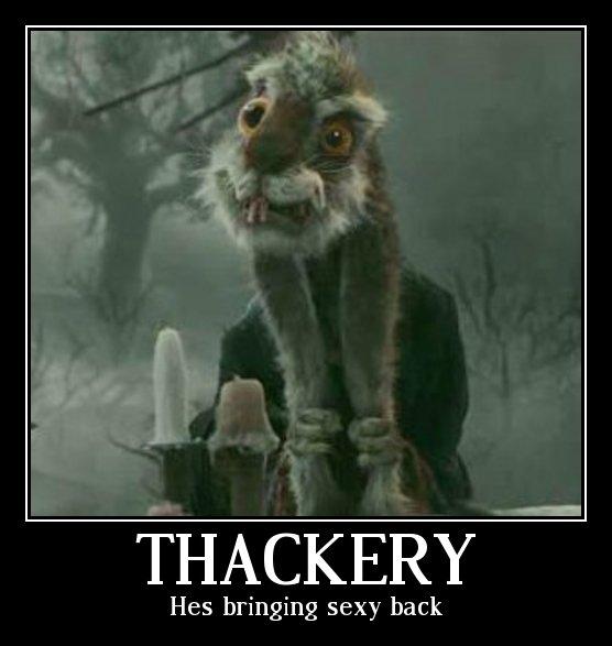 Thackery Earwicket 2. Wuahahaa. QUACKERY Hes bringing sexy back. more like making crack popular again alice in wonderl