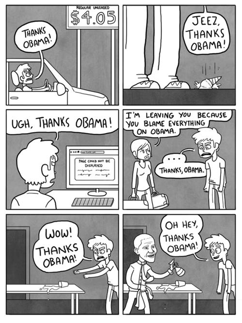 Thanks Obama. .