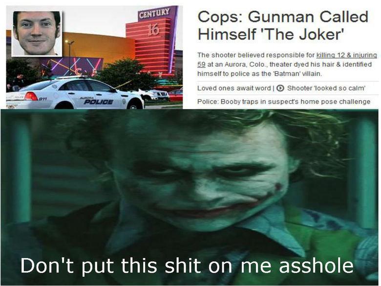 The Joker. .