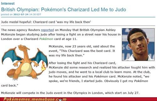 "The Pokelympics. Charizard.. Interest British Olympian: ' s Charizard Led Me to Judo pobre' t, elm forrige. "" ' 30 Jude medal hopeful: Charizard card was my We"