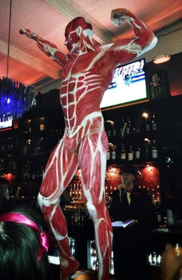 The bar received a grim reminder. Shingeki no vodka.
