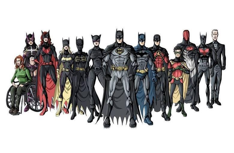 The Bat Family. .. The real Bat family