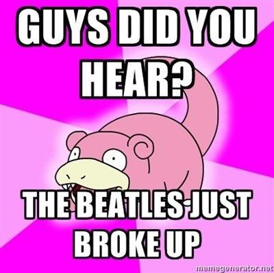 The Beatles. .. d