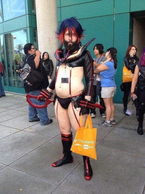 The best Kill La Kill cosplay. tenoutaten.. Seen worse...