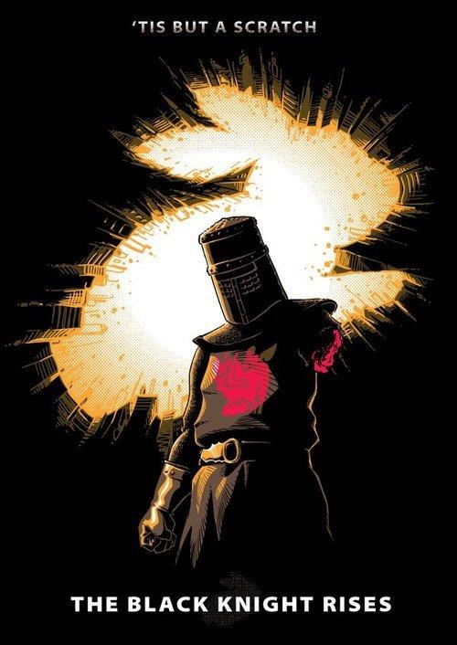 The Black Knight Rises. . THE BLACK KNIGHT RISES