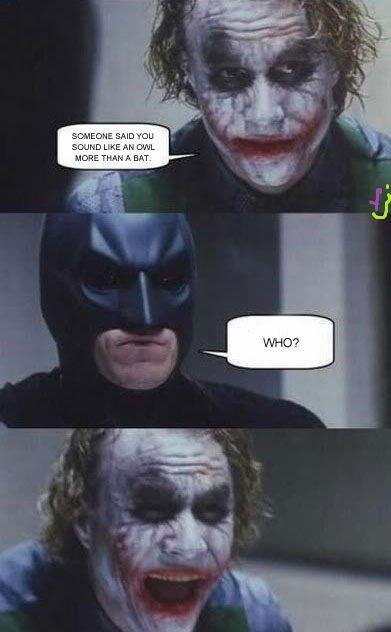 The Joker strikes again. Welcome to the latest uploads! Have fun!. joker batman bad joke skuser