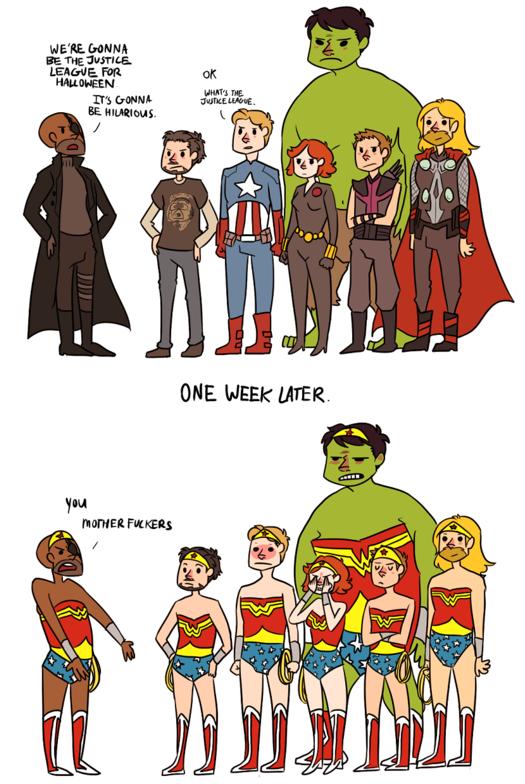The Justice League. enjoy. avengers justice league Super Hero