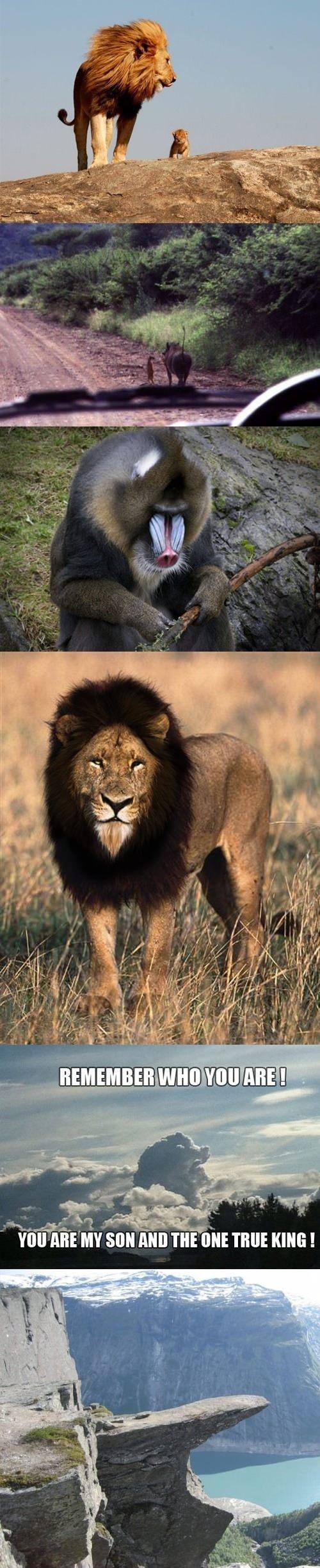 The Lion King. . maam:; mau mrm MY Soil mm m UNI TRUE KING l