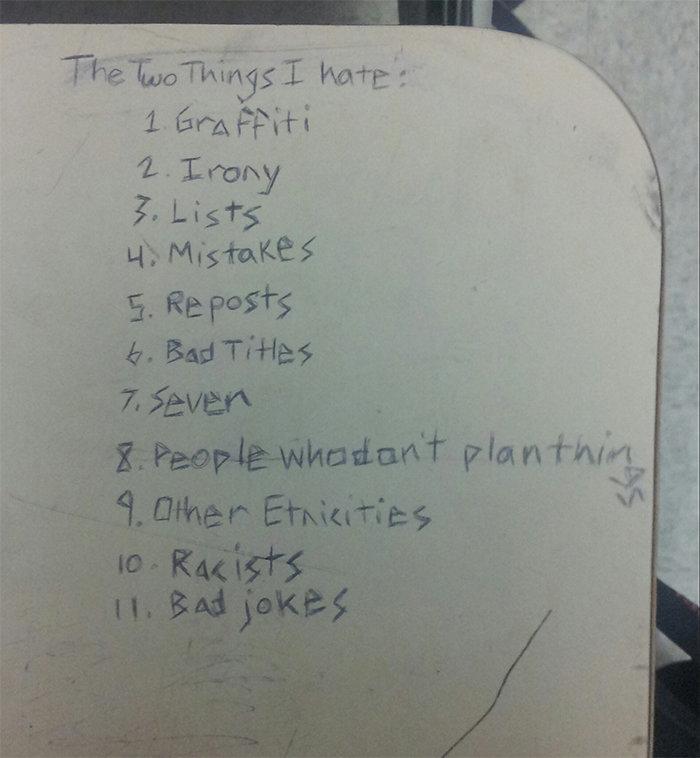 The List. . 1 Era, it' iri. 12. Long Lists