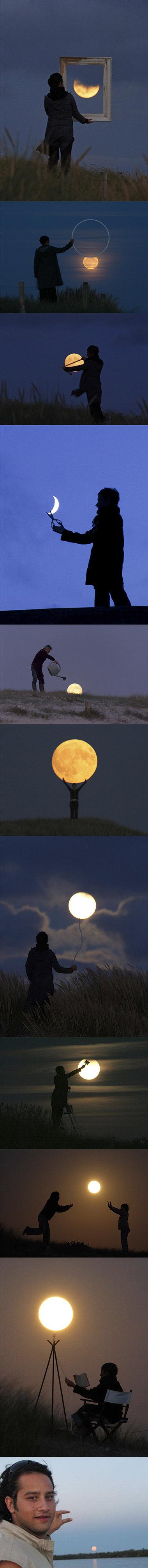The Moon.... . Moon night Sky funny fail