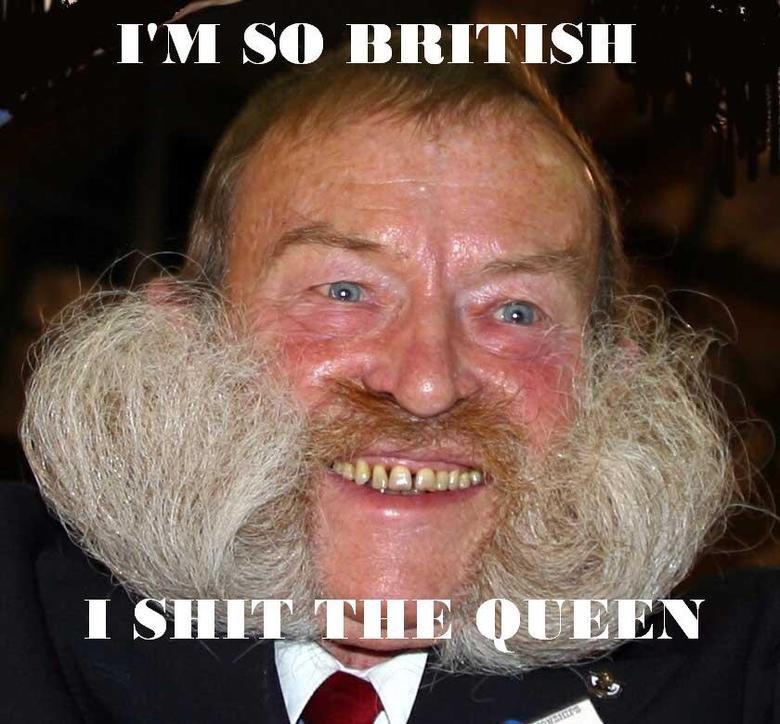 The most British. Woah.. good good. continue