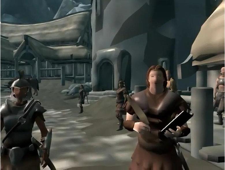 The only way i can run skyrim.... Mod: skyrim.nexusmods.com/mods/17137/? I get no lag .. Looks like Skyrim for the Wii tags Pc