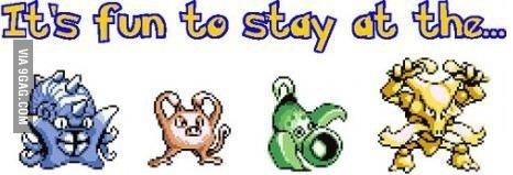 The pokemon people!. Not OC! stolen from 9gag phone app!.. 9Fag watermark