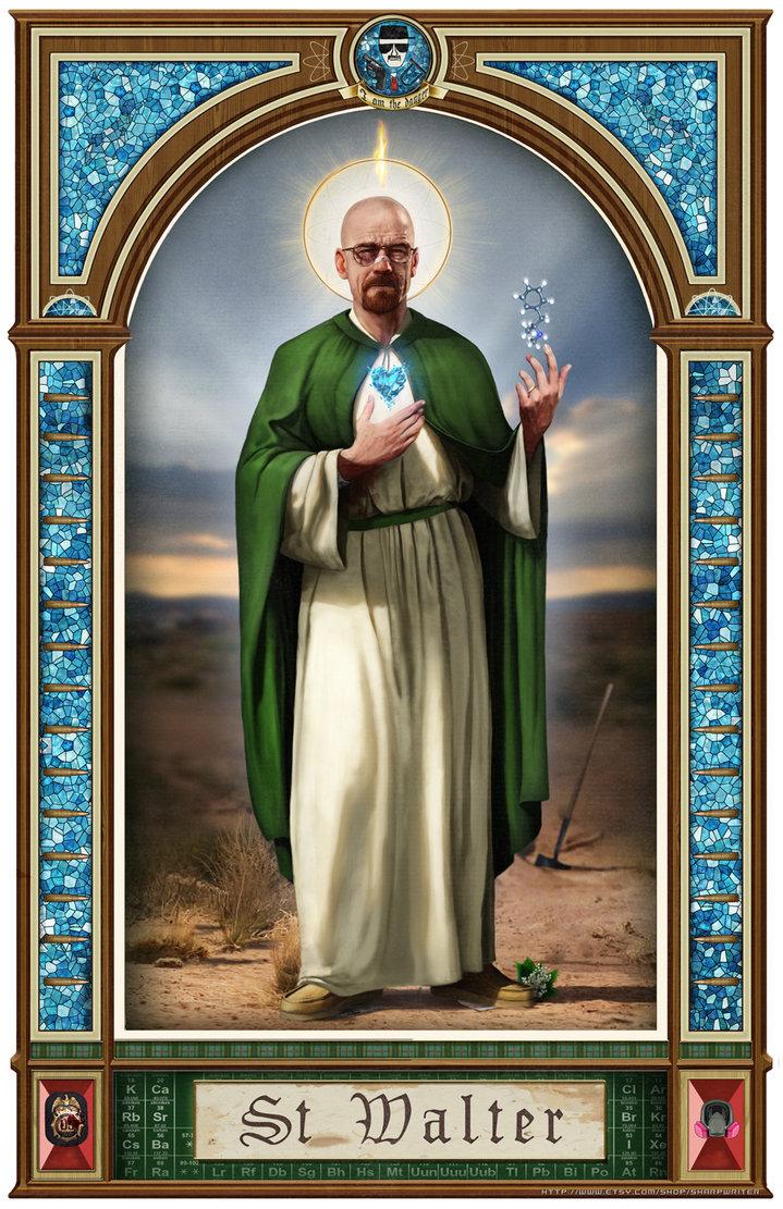 The Saint. Original OC..... Yeah No all creds go to Sharpwriter @ deviantart. 9. iif Sharpwriter heisenberg Walter White