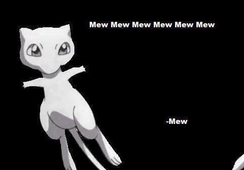 The Wisdom is Overwhelming. overwhelming. Mew Mew Mew Mew Mew Mew