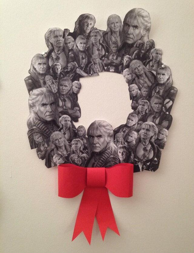 The Wreath Of Khan. .