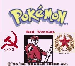 "The real Pokemon red. yope. III ""aela"" db. usrs re i t tite U' iial Bhg I i'"