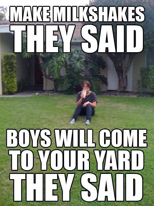 They're liars!. . Ill ' idgas I' IKEY SAID BOYS Willem: TO YOUR THEY SAN] Milkshake