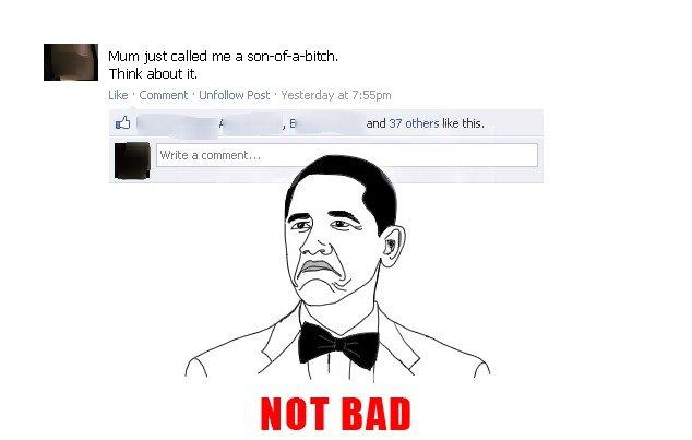 Funny status i saw, &