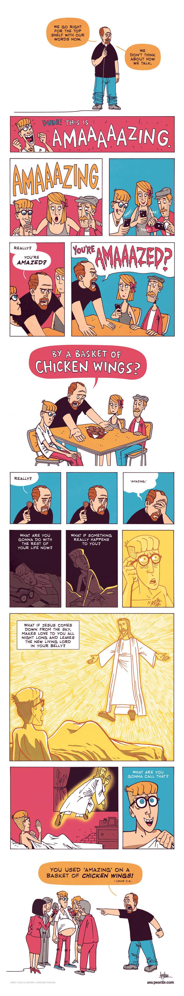 this comic is amazing. .