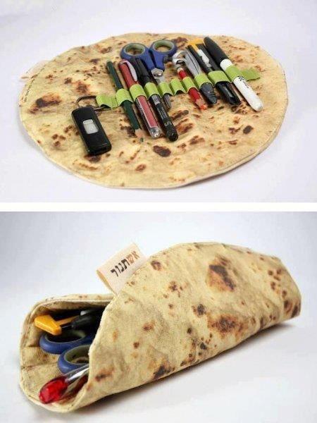 This is neat. burrito case.. I would eat it asdasdasd